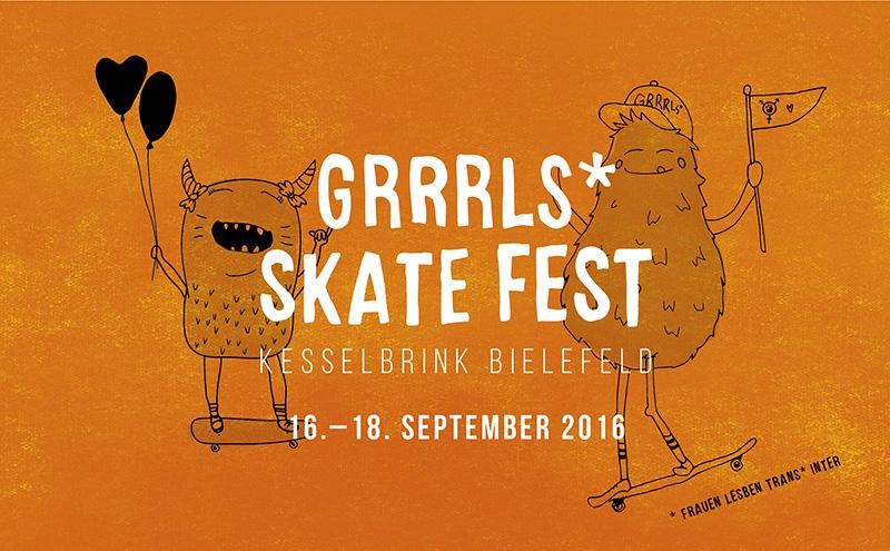 GRRRLS* Skate Fest 2016