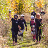 Racing girls after the women's class! – Photo: Maria Arndt